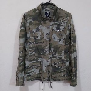 Jac Vanek Lightweight Camo Jacket - Green - Medium